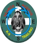 Search and Rescue SAR bloodhound Trailing tracking Eau Claire WI Wisconsin k9 k-9 urban rural man trailing lost alzhiemers missing persons cadaver non profit organization tax deductible donations bloodhound foster care